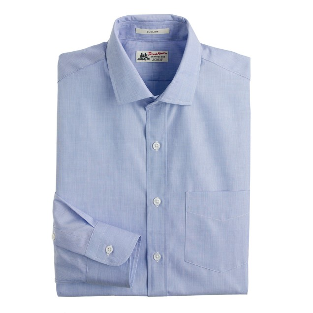 Thomas Mason® for J.Crew Ludlow shirt in periwinkle