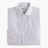 Thomas Mason® for J.Crew Ludlow shirt in paradise blue stripe