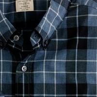 Heathered Billings plaid shirt