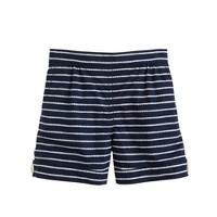 Girls' rope stripe short