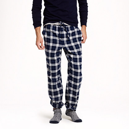 plaid flannel pants - Pi Pants