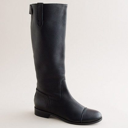 Weatherby tall boots with extended calf
