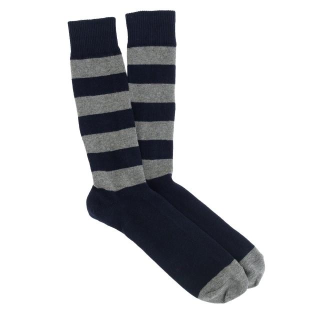 Stripe rugby socks