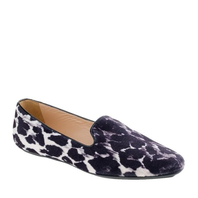 Darby velvet loafers