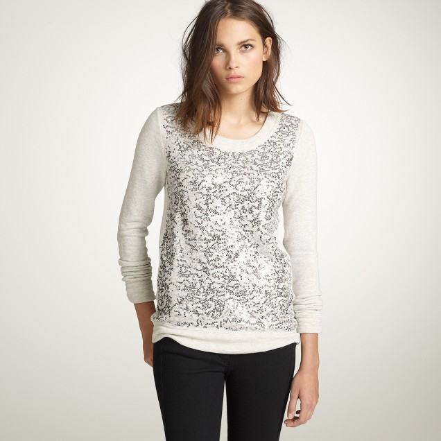 Haya sequin sweatshirt