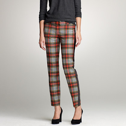 Cropped plaid tuxedo pant : new arrivals | J.Crew