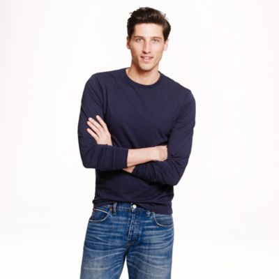 Slim Broken-In Long-Sleeve T-Shirt : Men's Tees | J.Crew