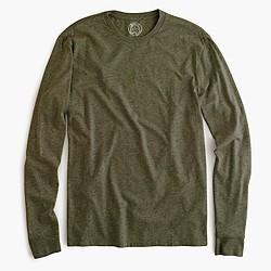Slim broken-in long-sleeve T-shirt
