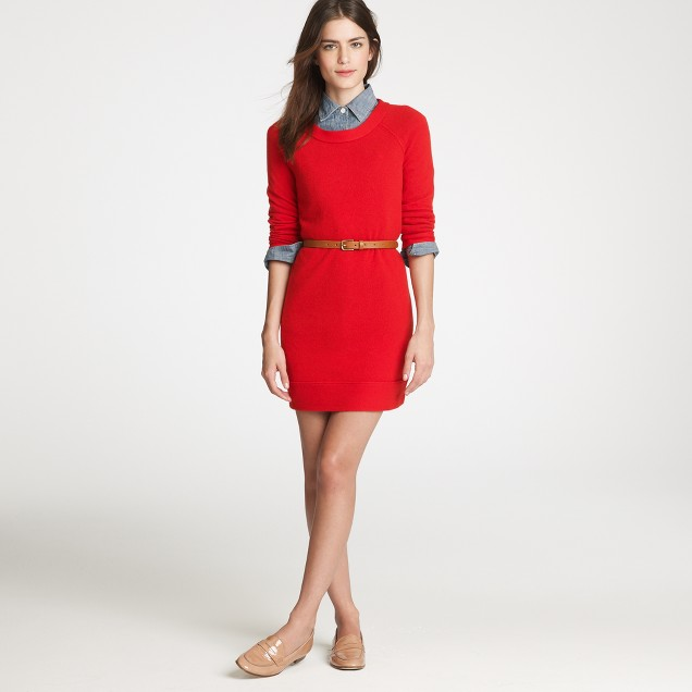 Collection cashmere tee dress