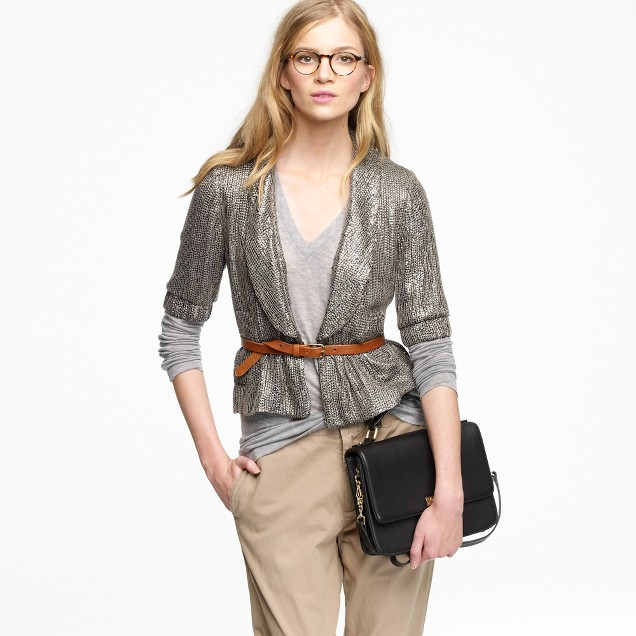 Moonbeam Sequined blazer