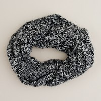 Marled knit snood