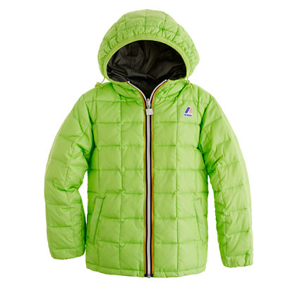 Boys' K-Way® reversible snow jacket