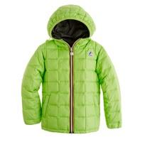 Boys' K-Way® reversible snow jacket
