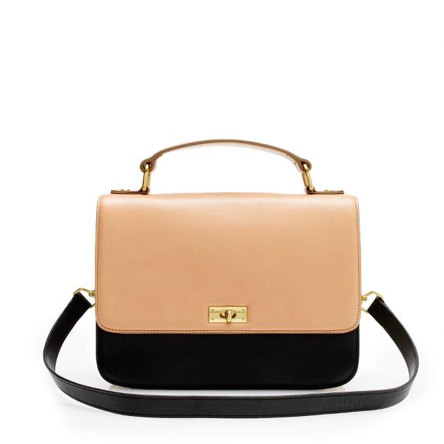 Edie tricolore purse