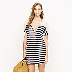 Sheer stripe tunic