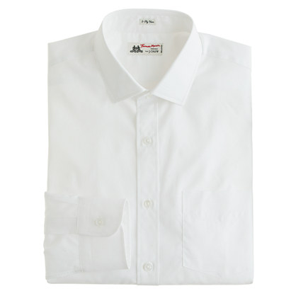 Thomas Mason® for J.Crew spread-collar dress shirt