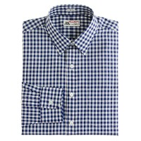 Thomas Mason® for J.Crew spread-collar shirt in vintage navy gingham