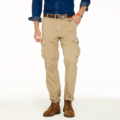 Slim Fit Cargo Pants For Men