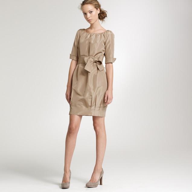 Silk taffeta Gillian dress