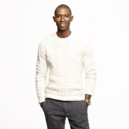 Wallace and Barnes handknit Italian wool sweater
