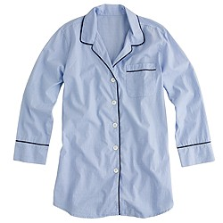 Nightshirt in end-on-end cotton