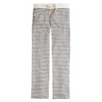 Dreamy cotton pant in stripe