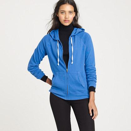 Ultra-knit zip hoodie