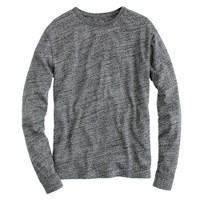 Slim Flagstone marled long-sleeve tee