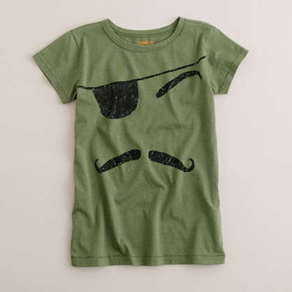 Boys' pirate face tee