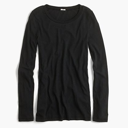 Tissue long-sleeve T-shirt