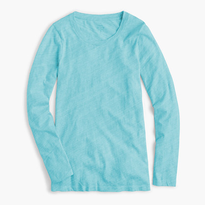 Tissue long-sleeve T-shirt