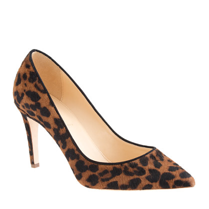 Collection Everly calf hair pumps