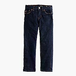 Boys' slim jean in wrinkle rinse wash