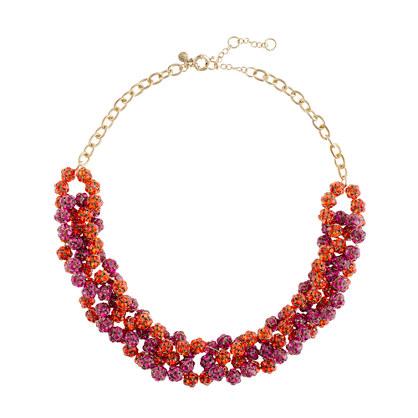 Fireball chain necklace