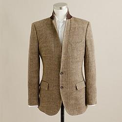 Ludlow sportcoat in herringbone Italian linen