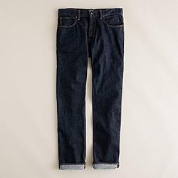 1040 slim-straight jean in resin crinkle wash