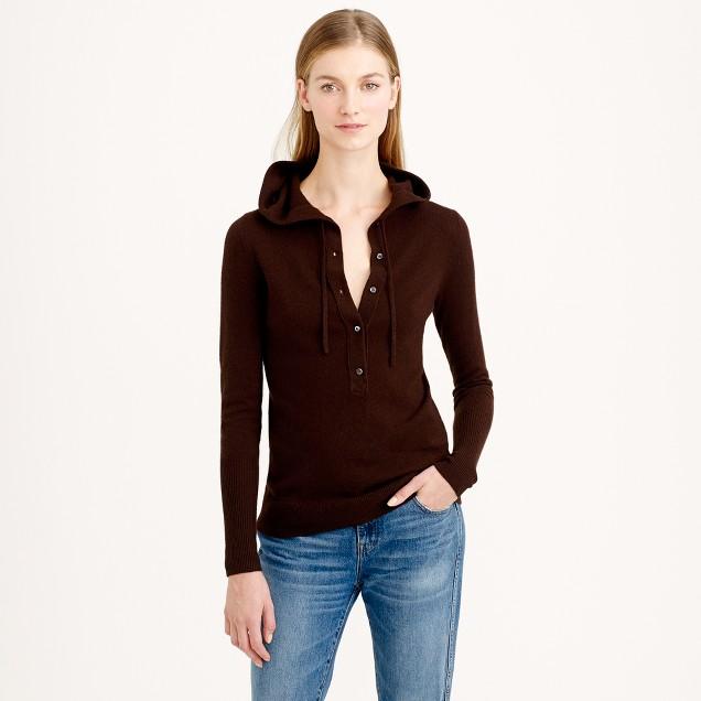 Italian cashmere getaway hoodie