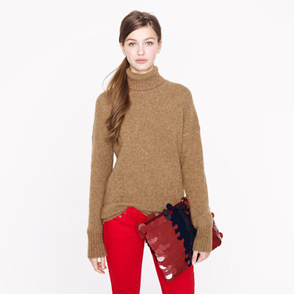 Collection chunky turtleneck sweater