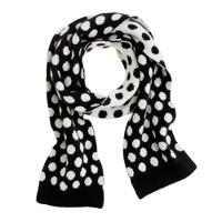 Girls' dot scarf