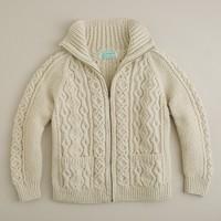Inverallan zip sweater