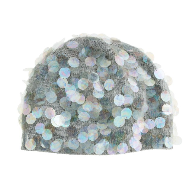 Girls' paillette hat