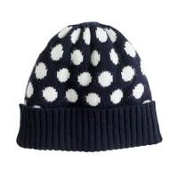 Girls' dot hat
