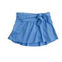Side-tie skirt