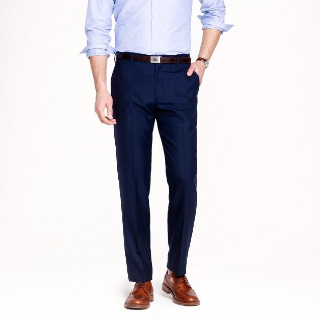 Ludlow classic suit pant in Italian cashmere