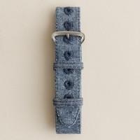 Cotton watch strap