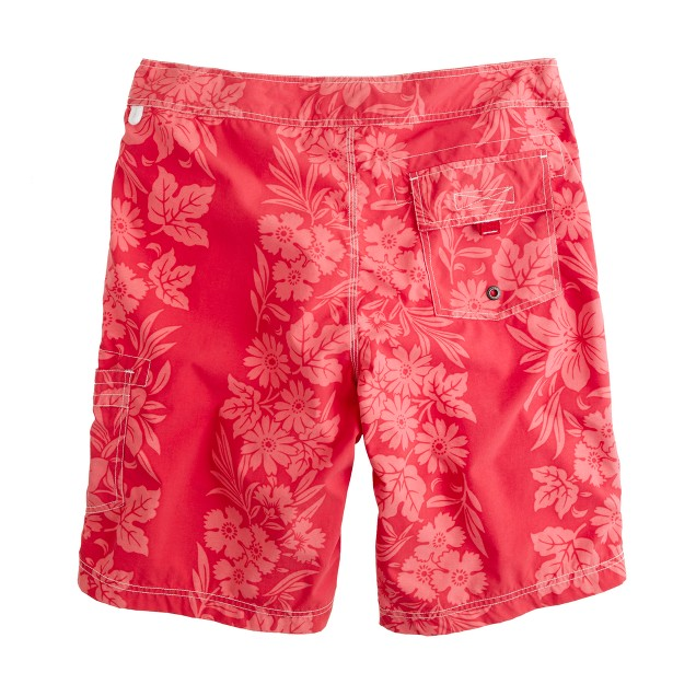 """9"""" board shorts in floral hilo"""