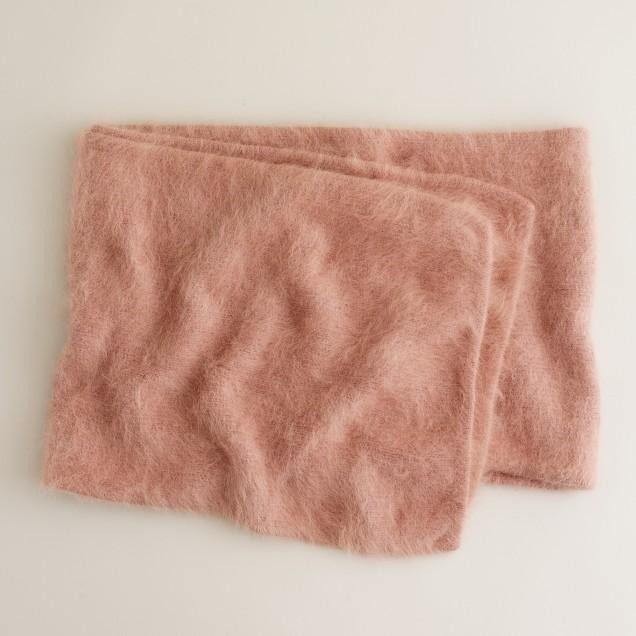 Angora scarf