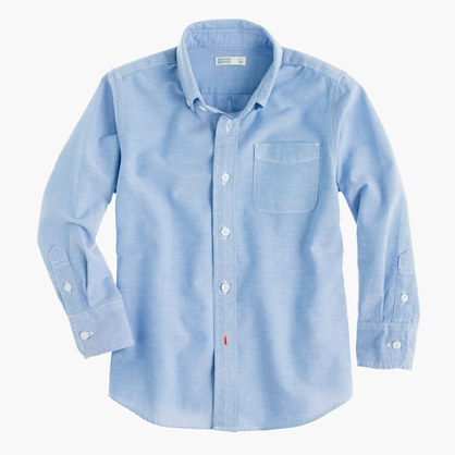 Boys' vintage oxford shirt