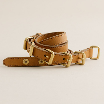 Multi-buckle belt