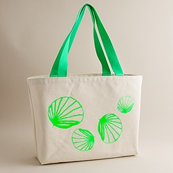 Girls' shell tote
